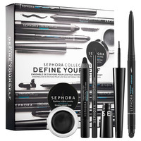 Sephora: SEPHORA COLLECTION : Define Yourself Black Eyeliner Set : eyeshadow-palettes