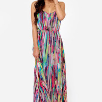 BB Dakota by Jack Rayna Print Dress