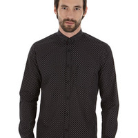 Black Star Print Shirt - Mens Offers - Sale & Offers