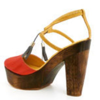Orson Heel in Red :: Women :: New :: Refinery29 Shops