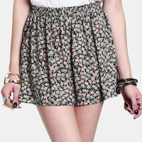 Count Me In Floral Skirt | Threadsence