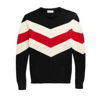 Bold Stripe Crewneck Sweater - Ovadia & Sons