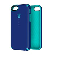 Speck Products CandyShell Case for iPhone 5C - Retail Packaging - Cadet Blue/Caribbean Blue
