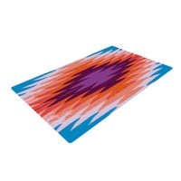 "Nika Martinez ""Surf Lovin Hawaii"" Woven Area Rug"