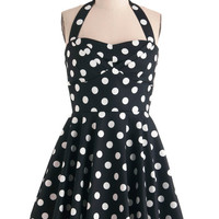 Traveling Cupcake Truck Dress in Navy | Mod Retro Vintage Dresses | ModCloth.com