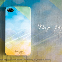 Apple iphone case for iphone iphone 5 iphone 5s iphone 5c iphone 4 iphone 4s iPhone 3Gs : abstract colorful rainbow bokeh