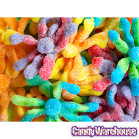 Trolli Sour Brite Octopus Gummy Candy: 3LB Box