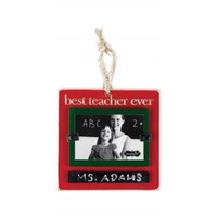 Mud Pie Best Teacher Ornament
