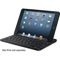 Logitech - Ultrathin Keyboard mini Cover for Apple® iPad® mini - Black