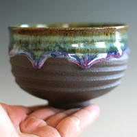 Chawan, Tea Bowl, handmade ceramic tea cup, handmade pottery