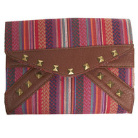 Fiesta Print Clutch | Wet Seal