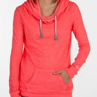 BKE lounge Burnout Thermal Sweatshirt