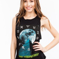 Mystical Zodiac Graphic Tank
