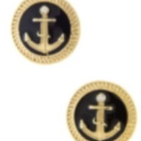Anchor Stud Earrings from Something Cute Boutique