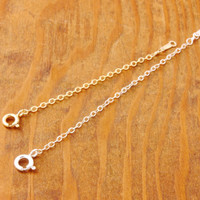 "Chain Extender - necklace extender, chain adjuster, 2"", 3"", 4"", or 5"", gold filled extender, sterling extender, sterling ajuster"