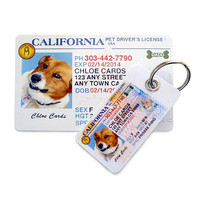 Personalized Pet Driver's License ® ID Tag Kit