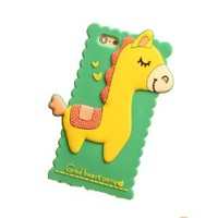 Bright Color Block Cute Horse Phone Shell Case for Iphone5/5s