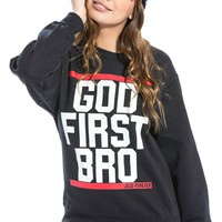 God First Bro-Red/Wht
