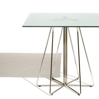 paperclip™ square table - medium