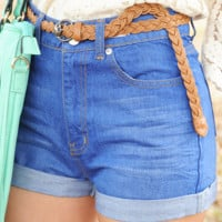 Easy To Love Shorts: Denim | Hope's