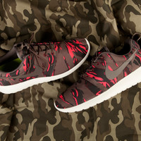 "Nike Roshe Run GPX ""Petra Brown Tiger Camo"""