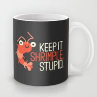 The Prawn Principle Mug by David Olenick
