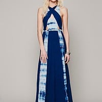 Free People Maheya Cross Over Maxi