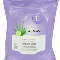 Almay Makeup Remover Towelette, 25 Co...