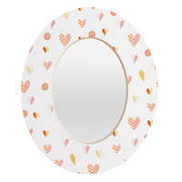Hello Twiggs Do All Things With Love Oval Mirror