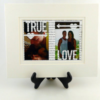 Custom 'True Love' Picture Frame - Custom Text & Colors