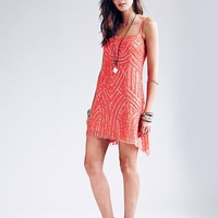 Free People Beaded Cocktail Dress