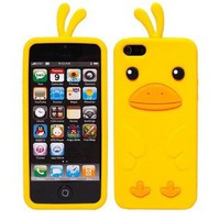 Stylish Cute Cartoon Duck Phone Case for Iphone 5/5s