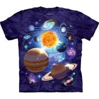 The Mountain You Are Here Sun Galaxy T-shirt