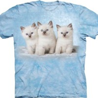 The Mountain Cloud Kittens Adult T-shirt