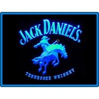 Jack Daniel's Tennessee Whiskey Bar Pub Restaurant Neon Light Sign