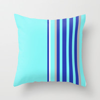Simple Lines Series Throw Pillow by Pop E. Carp