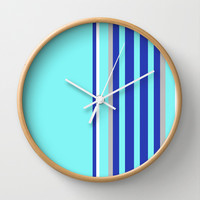 Simple Lines Series Wall Clock by Pop E. Carp