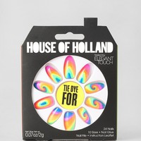 House Of Holland X Elegant Touch Tie Dye For Faux Nail Set - Urban Outfitters