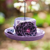 Birdhouse Dressy Hat Purple