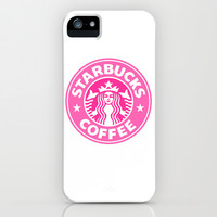 Pink Starbucks iPhone & iPod Case by Kai Gee
