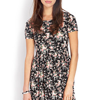 Wild Rose Fit & Flare Dress