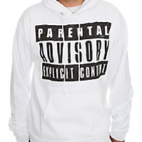 Goodie Two Sleeves Parental Advisory Pullover Hoodie