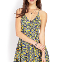 Garden Chic Surplice Dress