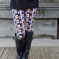 Pastel Indian Tribal Leggings