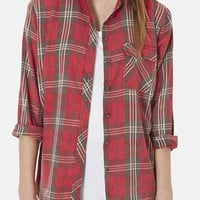 Topshop 'Marvin' Plaid Shirt | Nordstrom