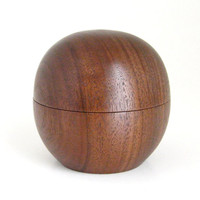 Walnut Sphere Box