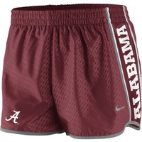Nike Women's Alabama Crimson Tide Crimson Pacer Shorts