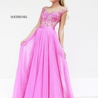 Sherri Hill 11151 Chiffon Evening Gown