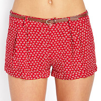 Shore Thing Pleated Shorts w/ Belt