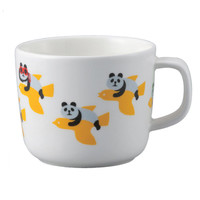 Decole Flying Panda and Bird Mug